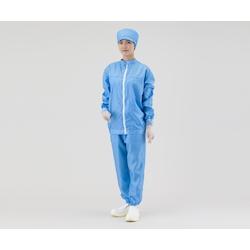 ASPURE Clean Jacket SSJB-D 3L Blue 2-5188-05 ASONE