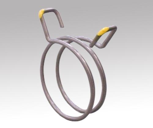 Hose For Powder Transportation Grounding Clip (For TPE038-20) 1-2893-12 ASONE
