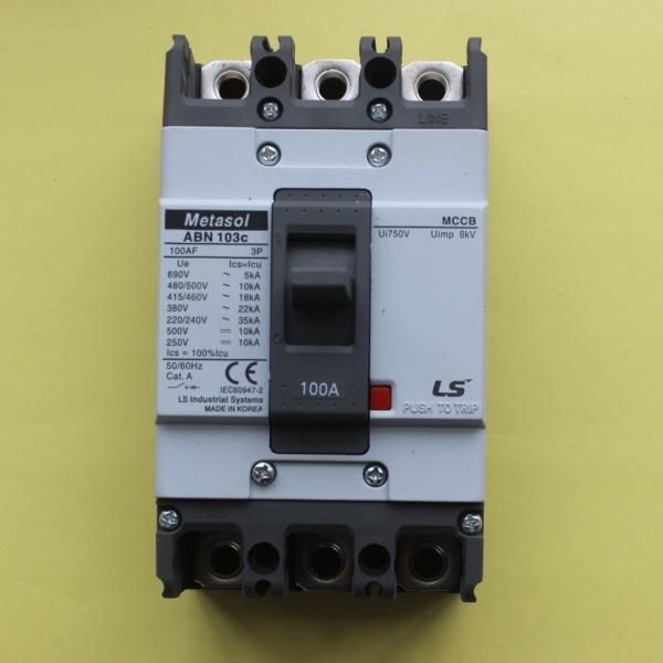 MCCB 3P_50A - 22kA ABN103c 50A LS