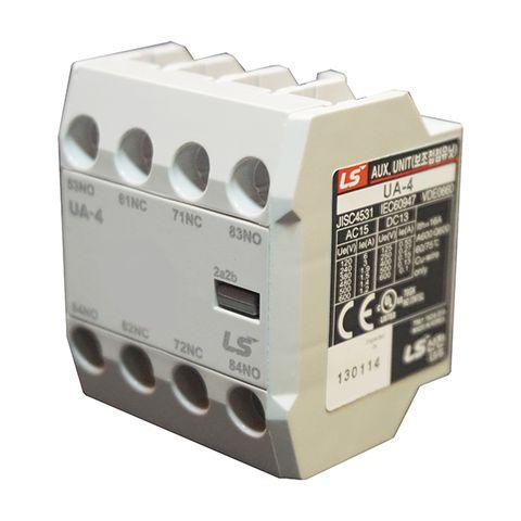 Tiếp điểm phụ 2NO+2NC dùng cho MC-6A 150A UA-4 LS