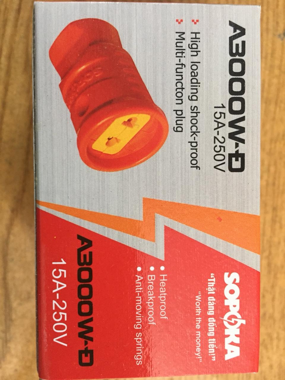 3000w load-bearing plug A3000w-Đ SOPOKA