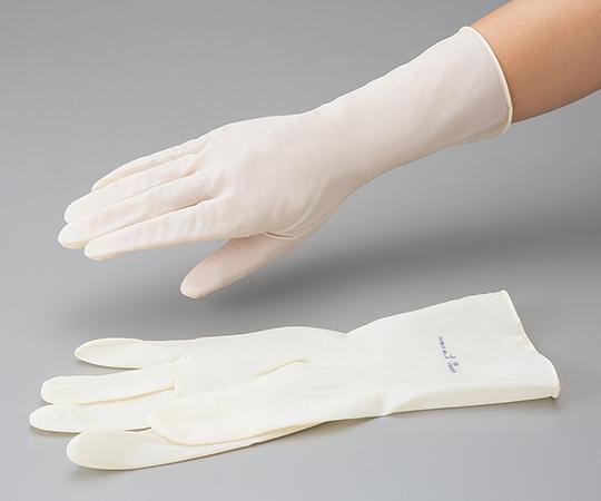 CLEAN KNOLL Polyisoprene Glove (Pair Type) L 3-6437-01 ASONE