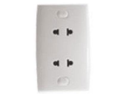 Double socket 2C_16A E426UST2CB_G19 schneider-electric