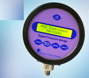Precision Digital Pressure Gauge DPG - 700 R&D