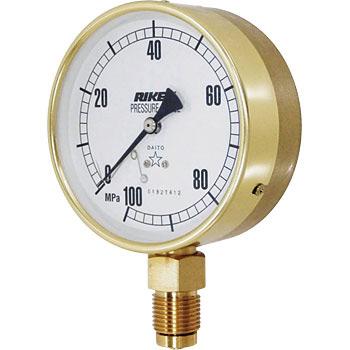 Pressure Gauges ASG100-250M-U RIKEN-KIKI