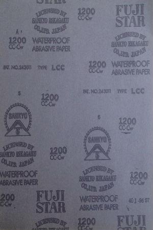 Abrasive paper fujistar F 230X280 P100 Fujistar
