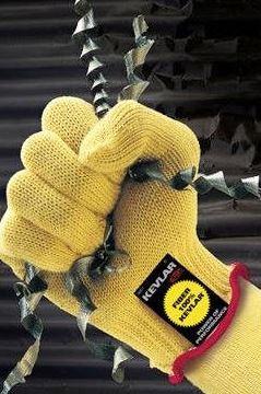 Kevla fiberglass heat resistant gloves TGCN-38334 DUPONT
