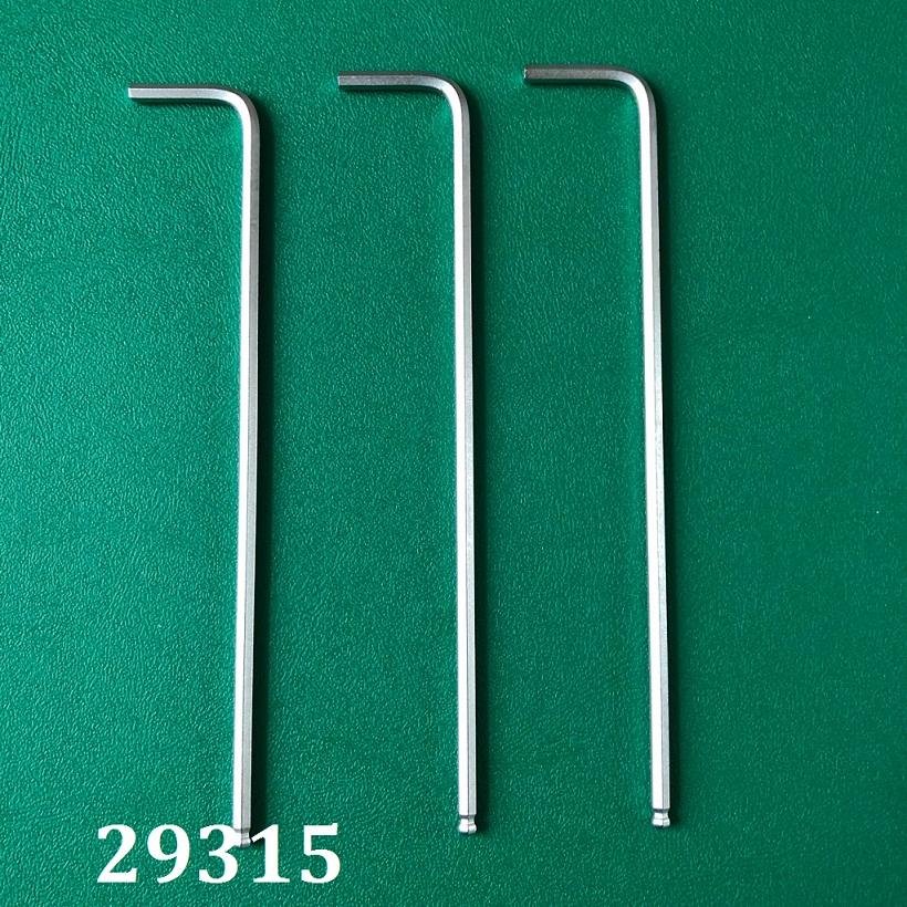 Ball Hex Key 2.5mm TGCN-29315 Top