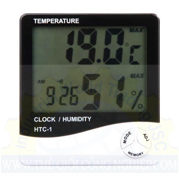Calibration for thermohygrometer  HTC-1-CALIBRATION MANDMPRO