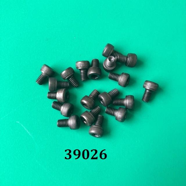 Ốc lục giác chìm đầu tròn màu đen M4x6mm TGCN-39026 LIDOVIT