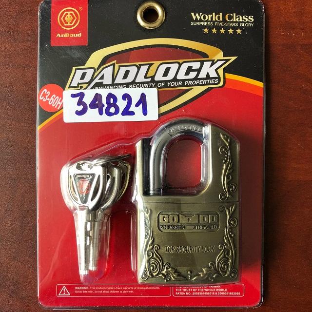 Security lock C6-60H PADLOCK