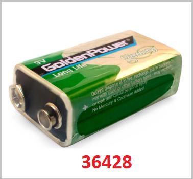 the battery G6F22 ( 6F22 ) GoldenPower