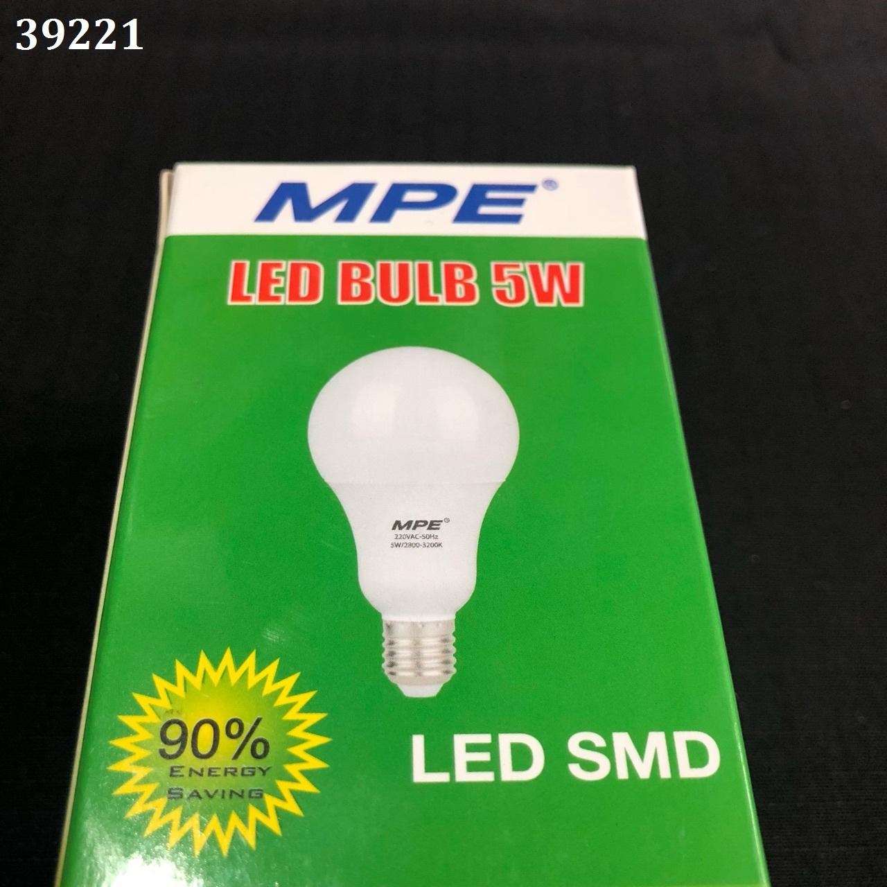 LED bulb 5w a / s yellow LBL-5V MPE
