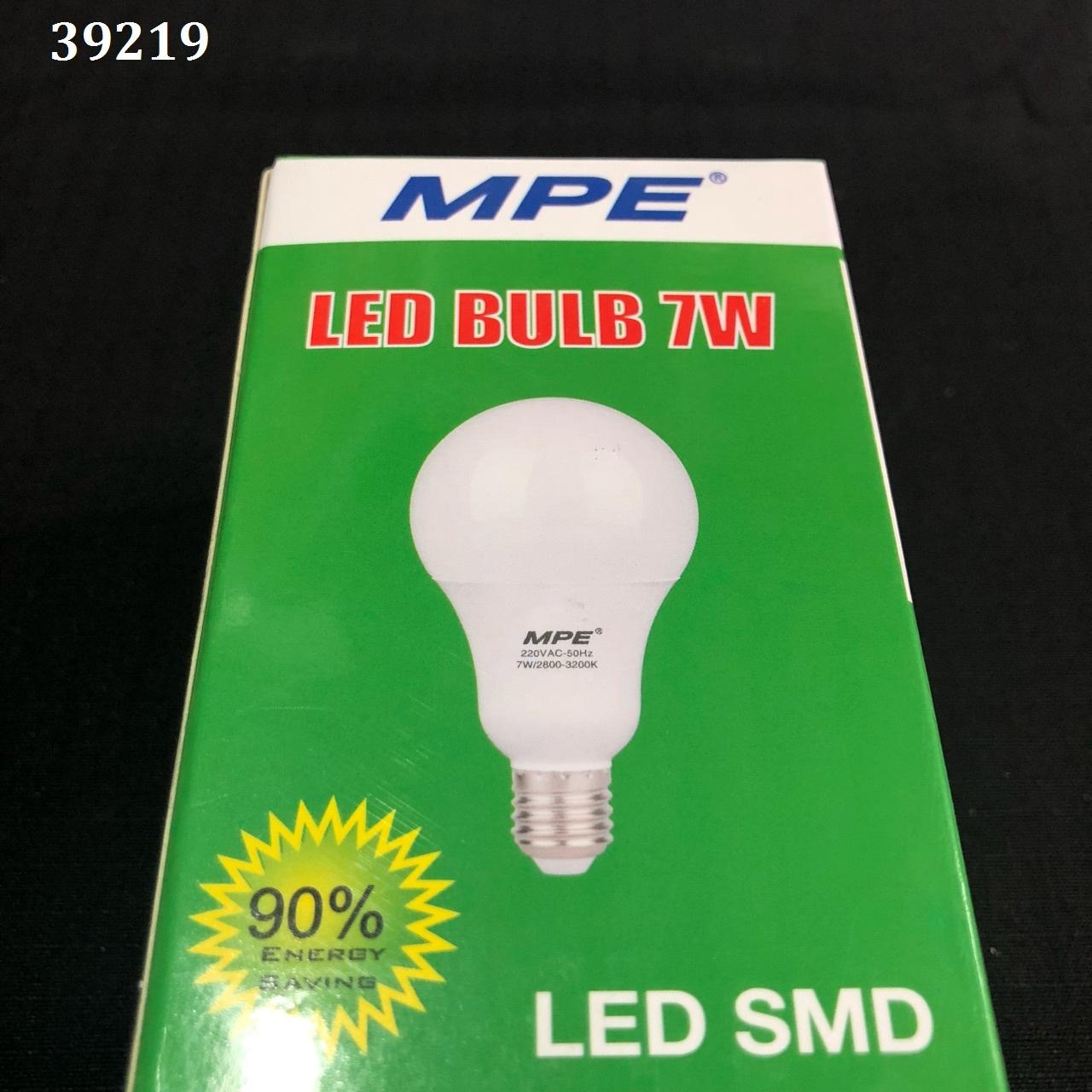 LED bulb 7w a / s yellow LBL-7V MPE