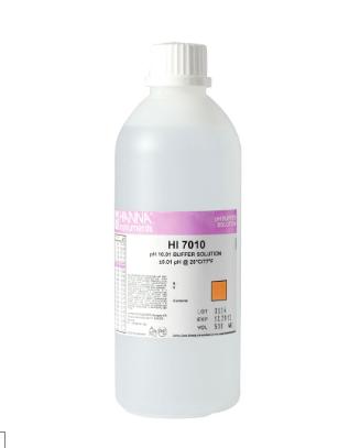 pH 10.01 Calibration Solution (500 mL) HI7010L Hanna