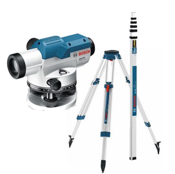 Optical Leveling Kit Bosch GOL 26D + BT160 + GR500 BOSCH