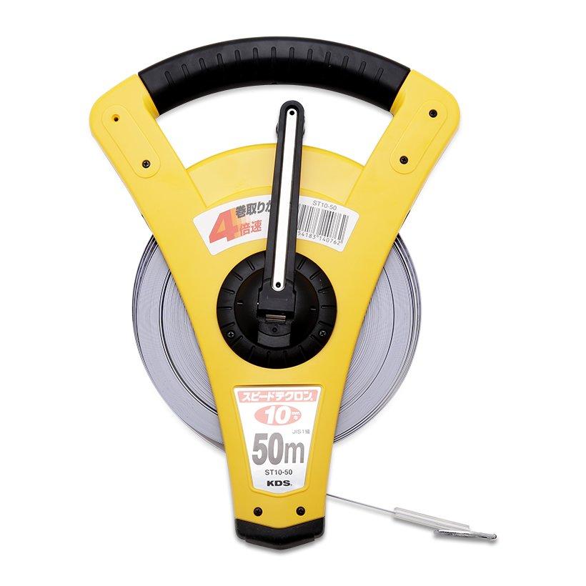 Steel measuring tape 50m ST10-50C KDS