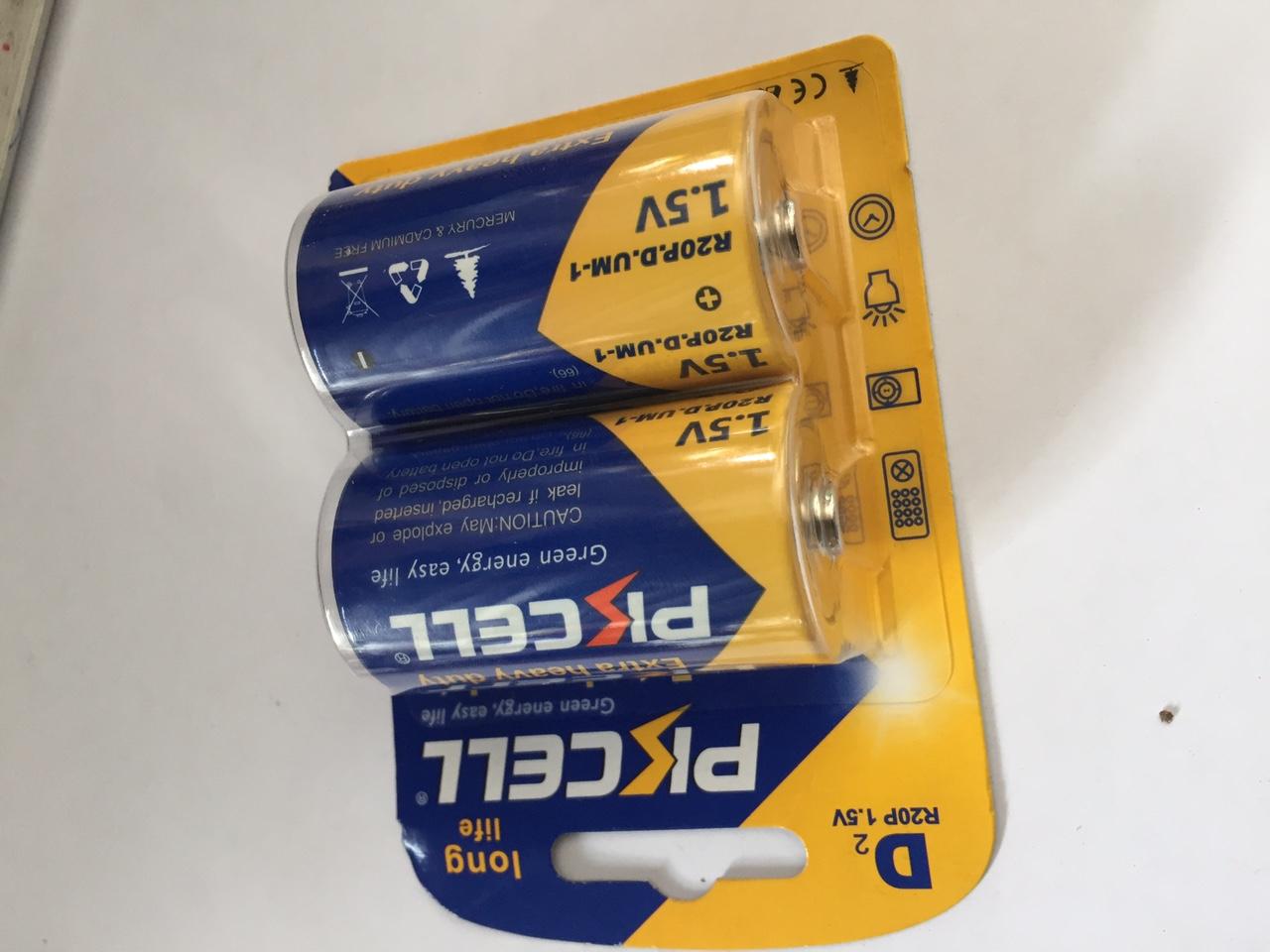 Pin  12V 27A EXTRA ALKLINE D-R20P PKCELL