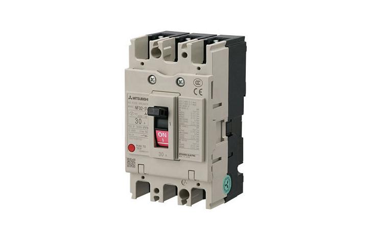 Automatic circuit breaker mcb 3P 10A NF32-SV3P Mitsubishi