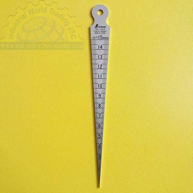 Taper Gauge 1-15 mm 62600 Shinwa