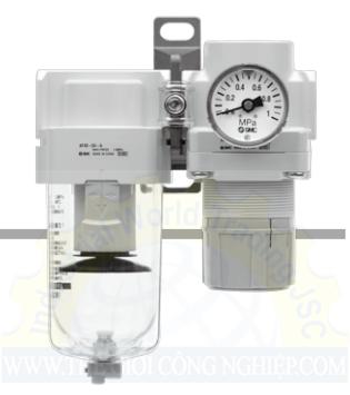 Air Filter Regulator Lubricator AC10B to 40B-A AC10B to 40B-A SMC