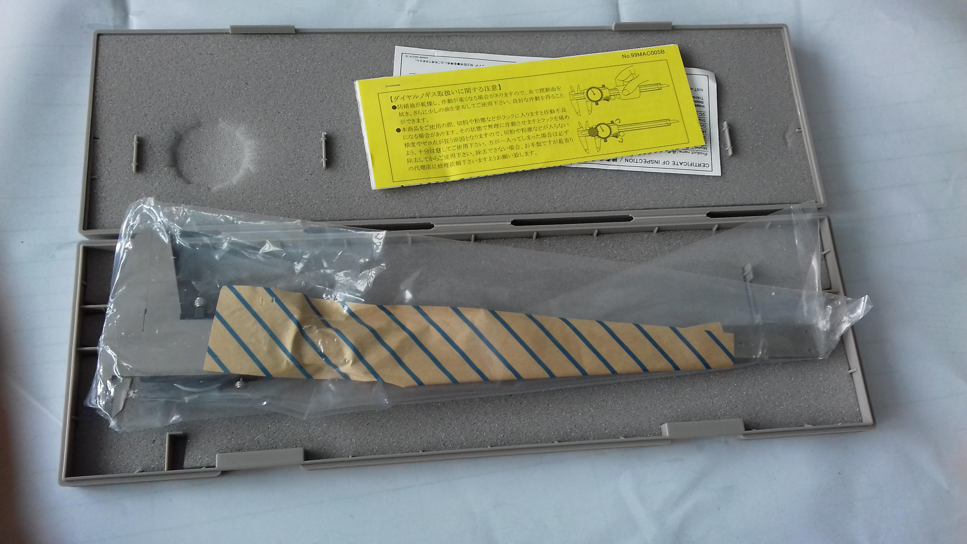 Dial caliper 505-745 MITUTOYO