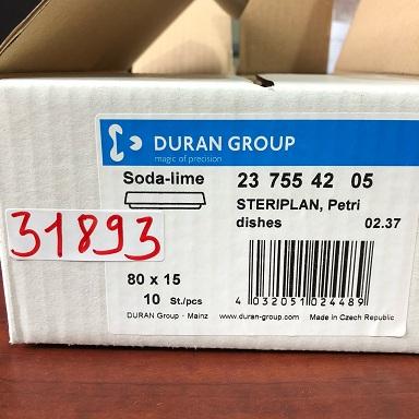 Petri dish 237554205 DURAN