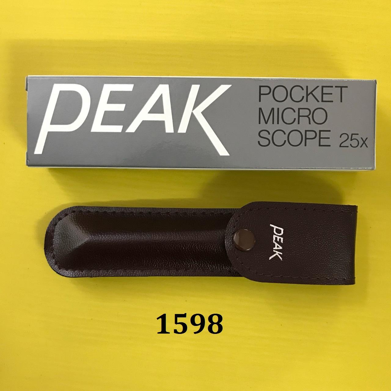 Pocket microscope 2001-25 PEAK
