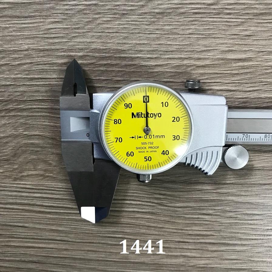 Dial caliper 505-732 MITUTOYO
