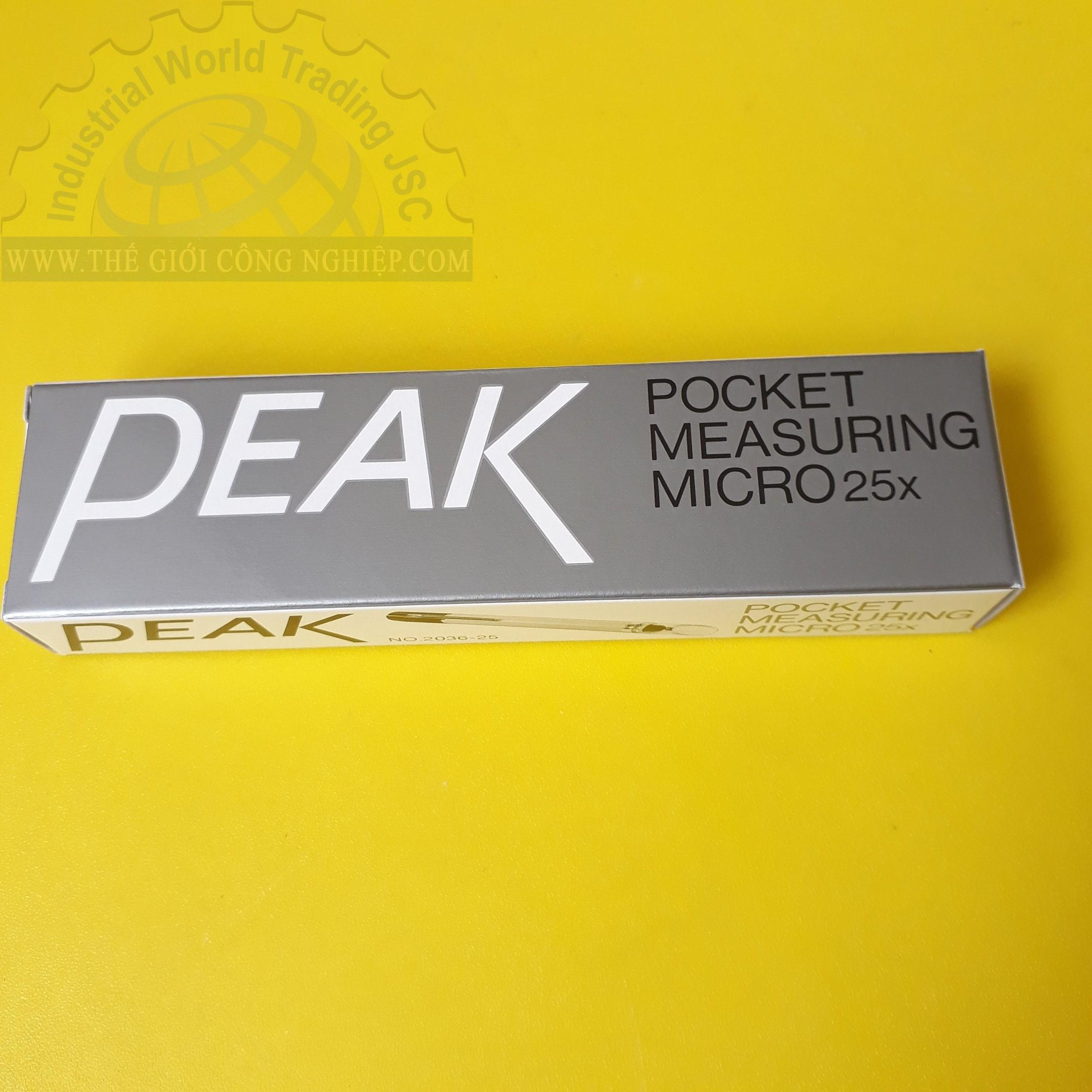 Pocket Measuring Microscope 2036-25 PEAK