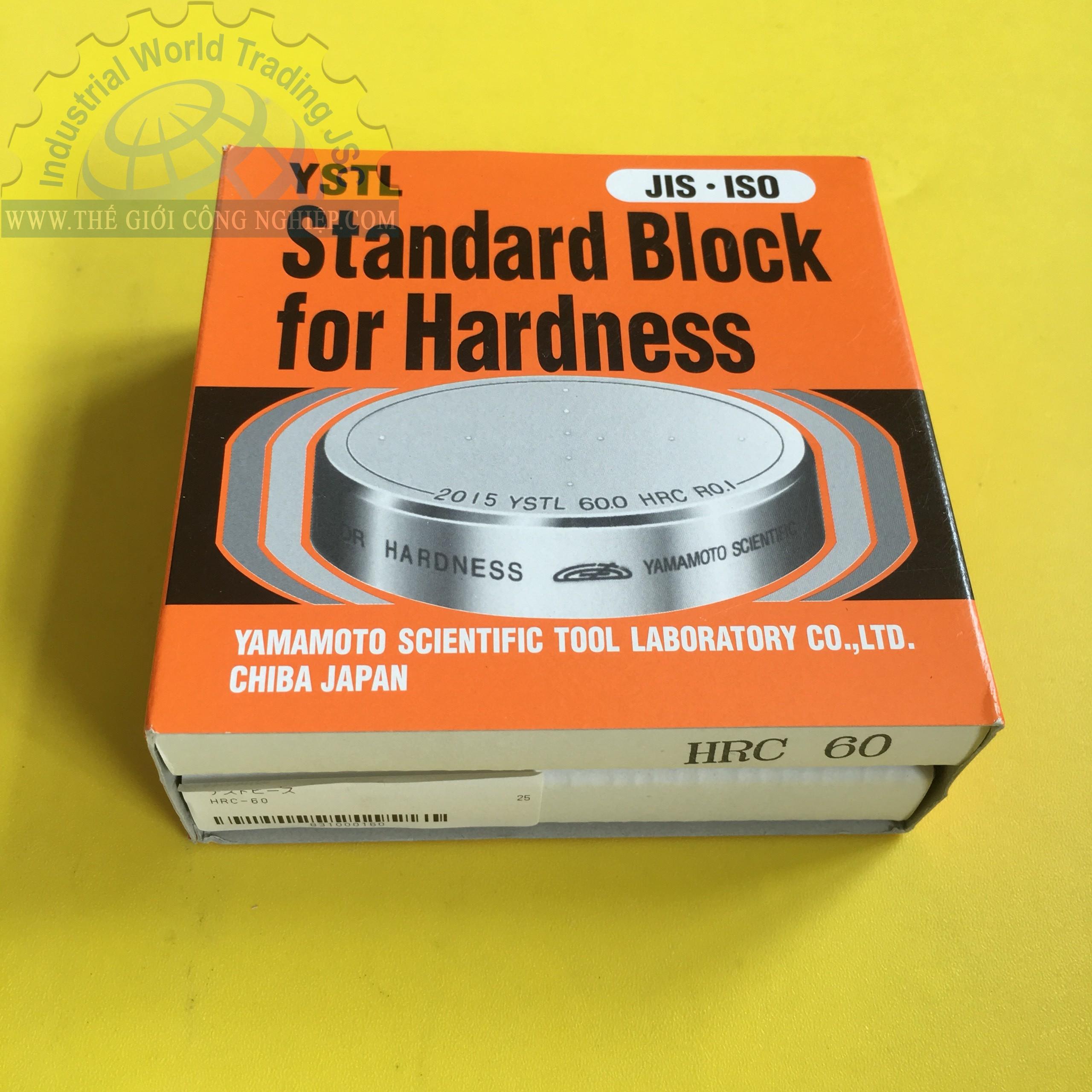 Hardness block HRC-60 Yamamoto