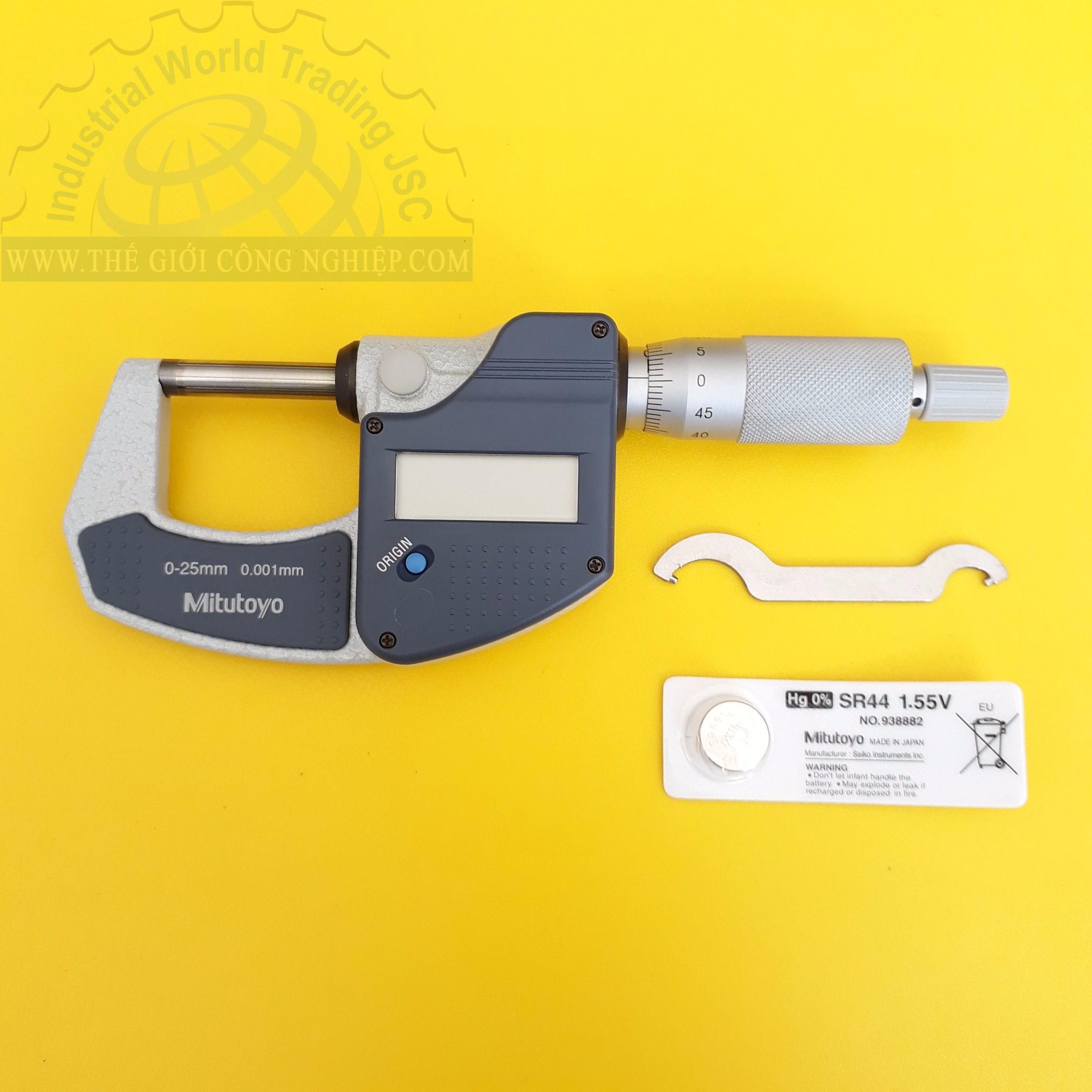 Digital micrometer 293-821-30 MITUTOYO