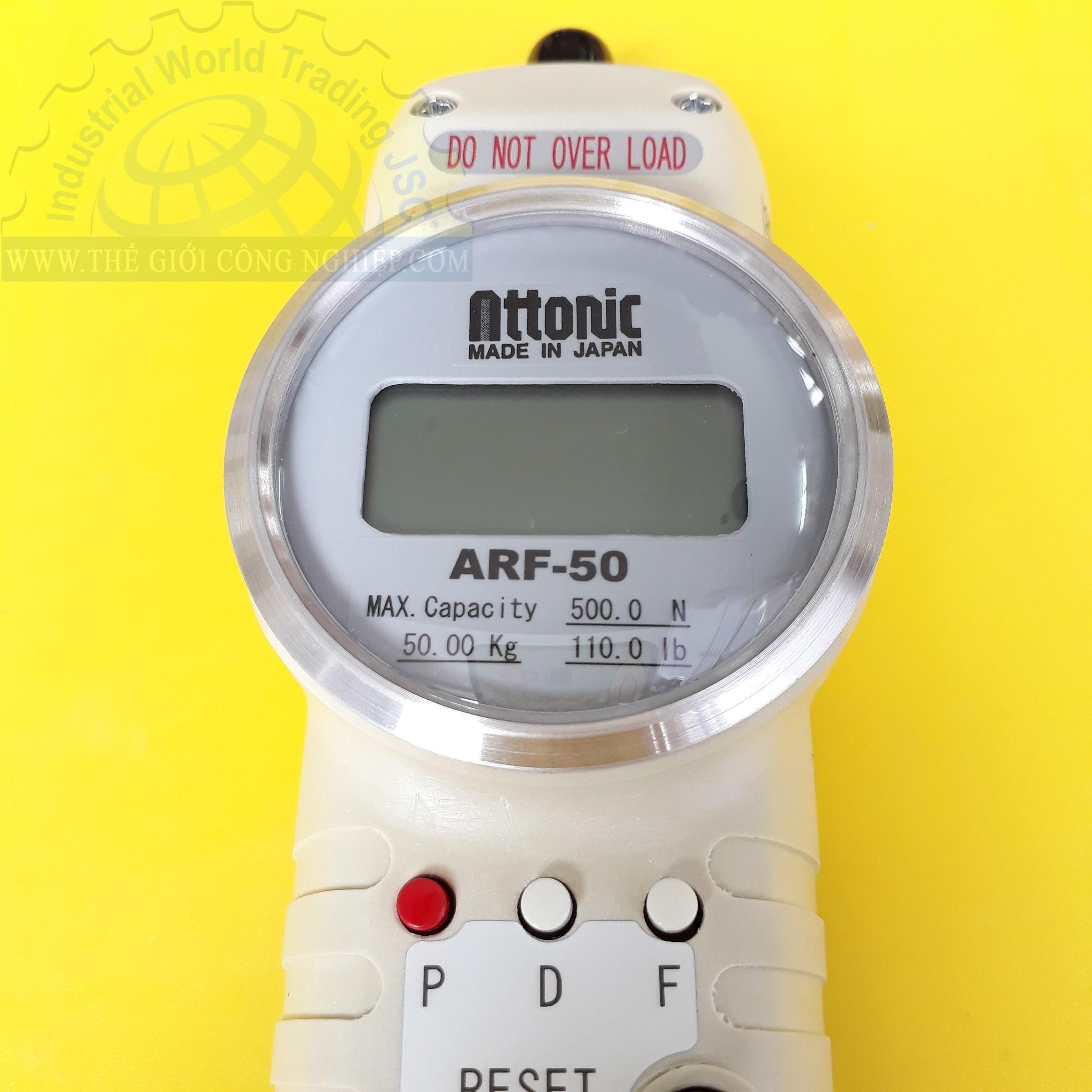 Digital force gauge ARF-50 ATTONIC