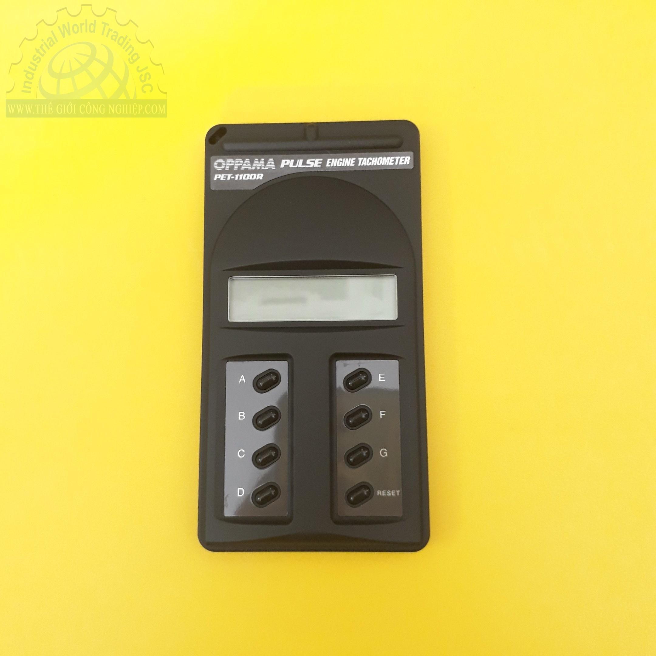 Engine Tachometer, PET-1100R, Oppama PET-1100R Oppama