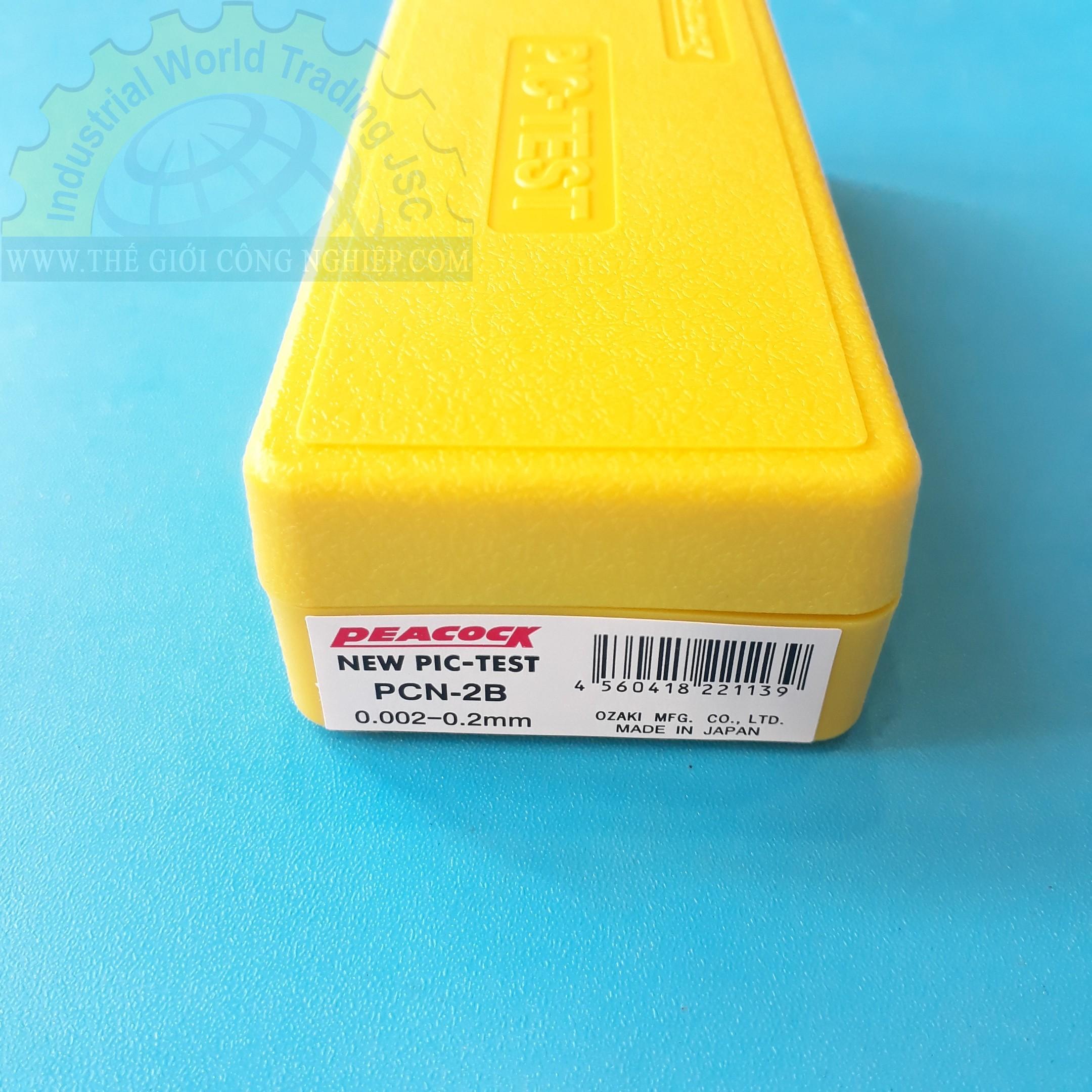 Lever type dial indicators 0.2mm PCN-2B PEACOCK