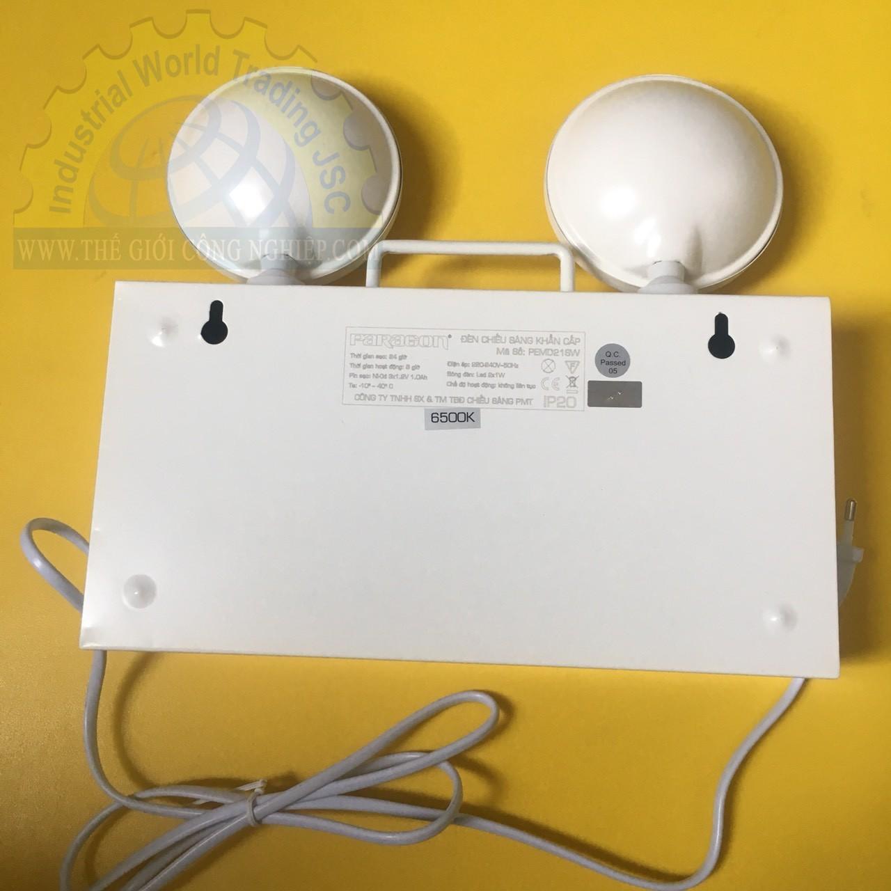 2w emergency charging light PEMD21SW PARAGON
