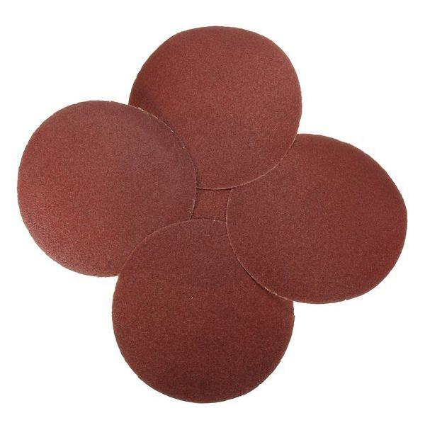 Round abrasive paper
