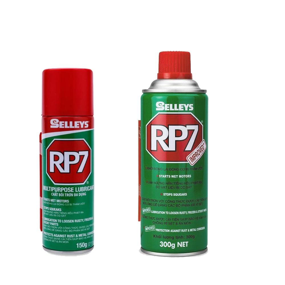 Cách sử dụng dầu chống rỉ sét và bôi trơn RP7