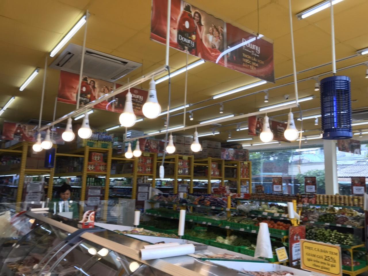 Các chủng loại vật tư cần thiết cho một siêu thị hay cửa hàng