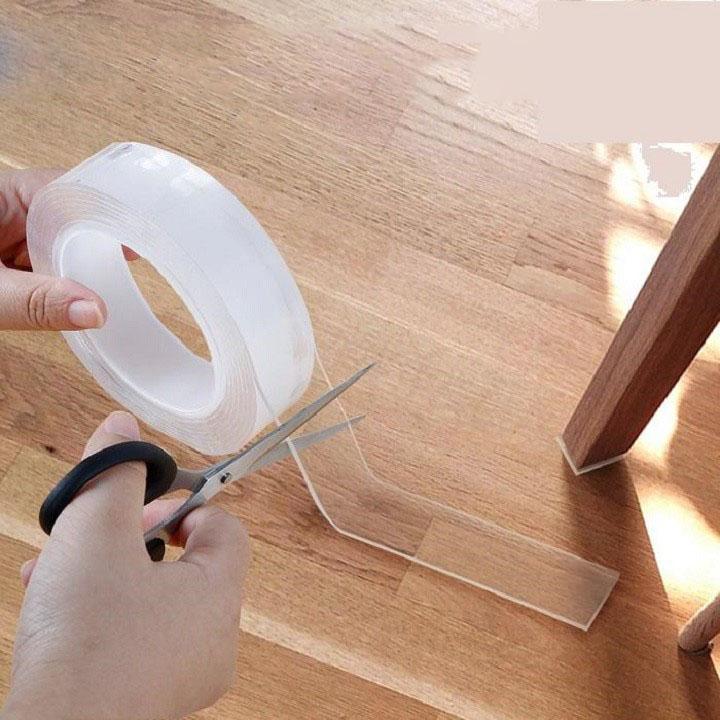 Ứng dụng và cách sử dụng của băng keo 2 mặt siêu dính trong suốt