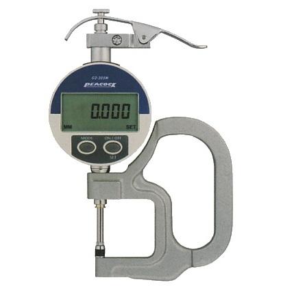 Digital Thickness Gauge G2-257M PEACOCK