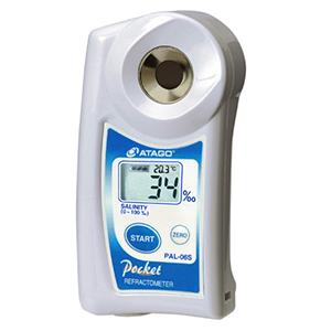 """Digital Hand-held """"Pocket"""" Salinity Refractometer PAL-06S Atago"""