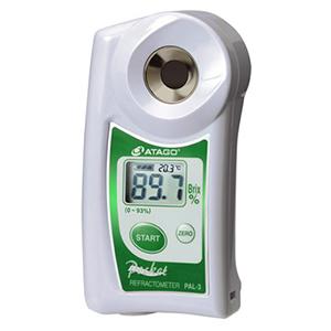 """Digital Hand-held """"Pocket"""" Refractometer PAL-3 Atago"""