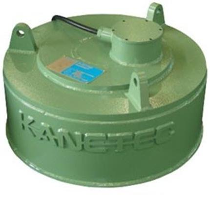 Circular electromagnetic for iron removal HEM-70C Kanetec