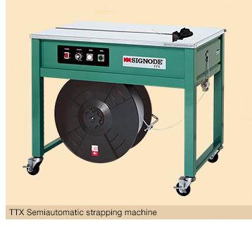 Plastic semi-automatic strapping machine TTX SIGNODE