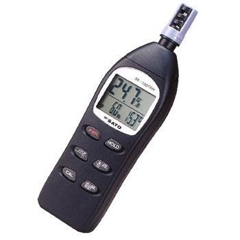 Digital temperature and humidity meter SK-120TRH SATO