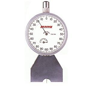 Dial Depth Gauge 1mm T-4 PEACOCK