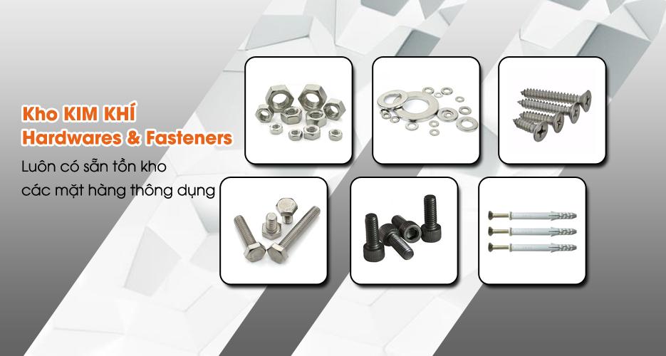 Hardwares & fasteners